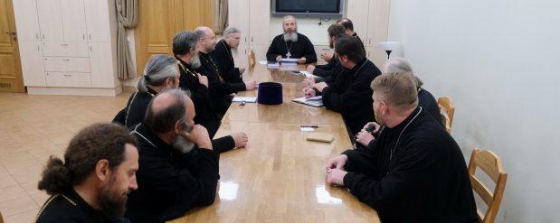 Первое собрание епархиальной комиссии по взаимодействию с Вооруженными силами