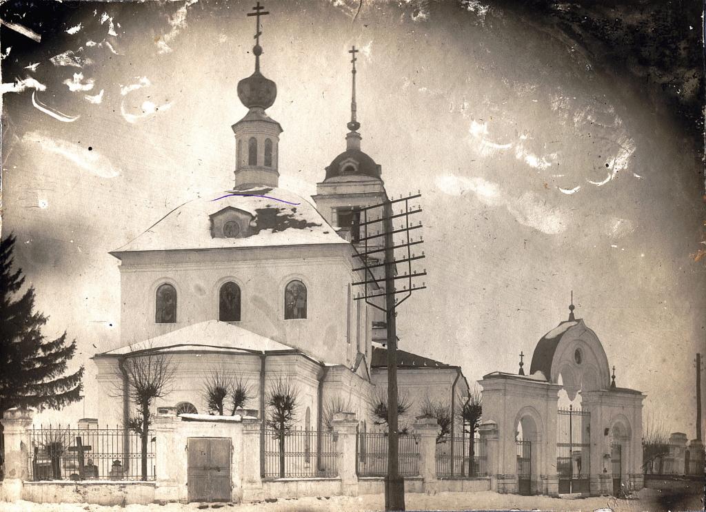 Храм Вознесения в Звенигороде