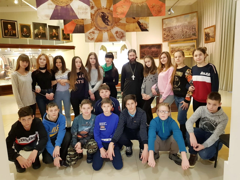 Паломнические поездки школьников г. Звенигорода