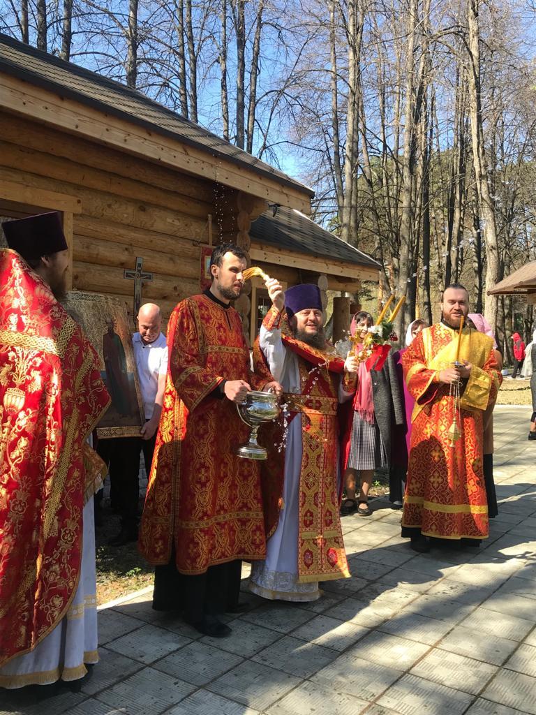 Пасха в Звенигородском благочинии