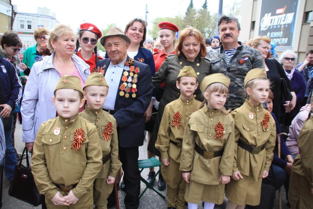 Праздничный концерт посвященный Дню Победы