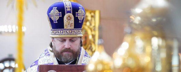 Божественная Литургия преосвященного Фомы, епископа Одинцовского и Красногорского.